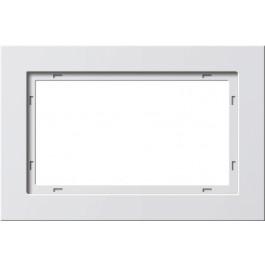 GIRA Ramka E2 pionowa/pozioma 1,5x udaroodporna biały matowy