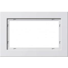 GIRA Ramka E2 pionowa/pozioma 1,5x udaroodporna biały z połyskiem