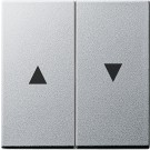 GIRA Klawisze z symbolami strzałek aluminiowy (lakierowany)